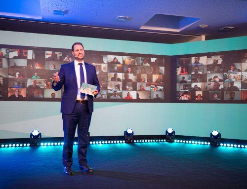 seit Juni 2021: Beim 1. digitalen Landesparteitag mit 98,77 % zum Landesparteiobmann der Volkspartei Burgenland gewählt.